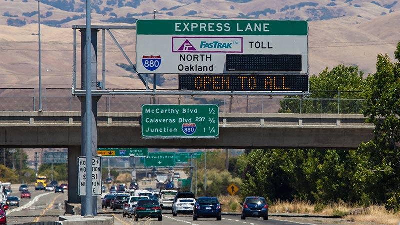 VTA express lane